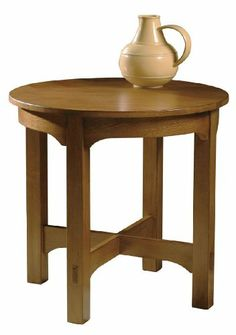 Shop For Hekman Round Starting End Table, And Other Living Room Tables At Wright  Furniture U0026 Flooring In Hannibal, MO. Oak Solids With Oak Veneers.