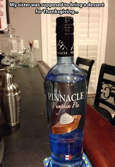 My sister sent this to me and said I would do this, she is right. I actually own this vodka. Hahaha.