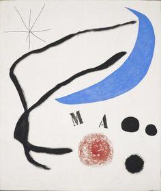 Poema (III) | Pinturas | Catálogo de obras | Fundació Joan Miró