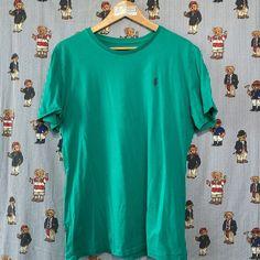 Turquoise Ralph T Shirt (L) Vintage Sportswear, Fred Perry, Tommy Hilfiger, Calvin Klein, Street Wear, Ralph Lauren, Turquoise, Sweatshirts, Coat