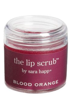 sara happ® 'The Lip Scrub™' Blood Orange Lip Exfoliator #Nordstrom #PickPink sara happ® is donating 20% of all October profits to the Breast Cancer Research Foundation in New York City. #BCA