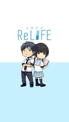 This manga is lit:D Relife Anime, Kawaii Anime, Anime Art, Hatsune Miku, Amaama To Inazuma, Koi, Slice Of Life Anime, Animes On, Chibi Characters