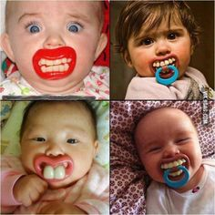 Scary pacifier