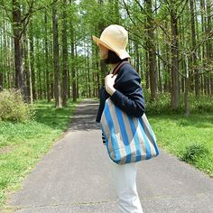 #canvas #leather #totebag by #stevemono and #foldable #summer #hat by #nickimarquardt