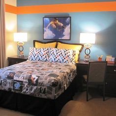 Teen Boy Blue Bedroom Design, Pictures, Remodel, Decor and Ideas - page 2
