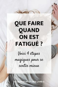 4 tapes magiques pour se sentir mieux quand on est fatigu awaken to the true power of yoga Psychology Experiments, Psychology Careers, Better Life, Feel Better, Grosse Fatigue, Burn Out, Yoga Positions, Good Habits, Positive Attitude