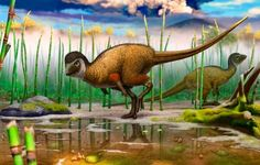 BioOrbis: O Pequeno Dinossauro Herbívoro Emplumado