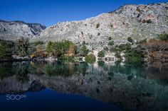 Zaro's Lake - Zaros is one of the most important villages at the roots of Psiloritis mountain and is also one of the most historic villages in Crete with approximately 2,000 inhabitants whose main occupation is in the field of agriculture, tourism, beekeeping and livestock.