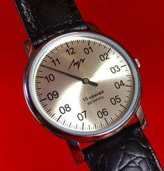 LUTSCH Single Hand watch, Belarus