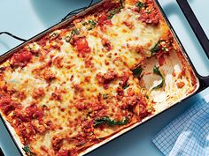 Lean Lasagna   For a hearty, make-ahead meal, you can't go wrong with a classic lasagna dish! From light veggie lasagnas to rich and meaty lasagnas, you're sure to find one your family will love in this collection of our best lasagna recipes!
