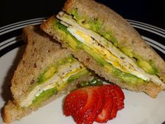 life's joy..... food!!: ~ T.E.A. breakfast sandwich ~
