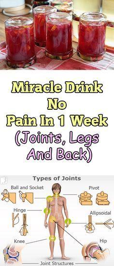 Miracle Drink – No Pain In 1 Week (Joints, Legs And Back) This pain on your back, the pain in your legs or the pain in your neck and joints is painful and horrible situation that normally occurs in case you are having a unhealthy way of life, in case your life is full with stress and poor posture.