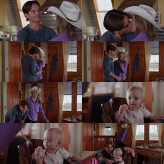 Amy: You be good. Good for 'dada' Ty: Come on Lyndy. Heartland Season 11, Amy And Ty Heartland, Heartland Quotes, Heartland Ranch, Heartland Tv Show, Ty Y Amy, Heartland Characters, Spencer Twin, Ty Borden