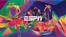 ESPN World Games on Behance