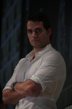 Henry Cavill - I can't get enough of that look..makes me feel weak and jealous of the photographer! Damn the man his handsome!