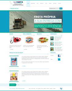 Novo layout para o site: http://www.salgarca.com/