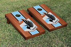 Minnesota United Cornhole Game Set Rosewood Stained Stripe Version * Read more reviews of the product by visiting the link on the image.