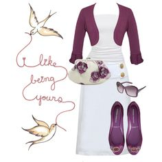 i like being yours..., created by mamajess on Polyvore