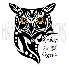 The owl was seen as a very sacred (wakan) symbol to most of the Native American tribes. All tribes though, recognised the owl as having great powers. The Lakota Warrior would paint dark circles around there eyes, symbolising membership of the Owl Society, allowing the warrior to gain better