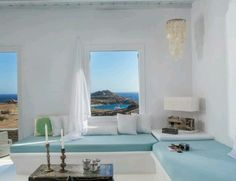 Typical Greek beach house in Mykonos!