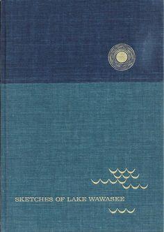 Sketches of Lake Wawasee Turkey Lake Kosciusko County Indiana 1967 Book NICE!  Purchase today at www.BooksBySam.com.  Always FREE Shipping!