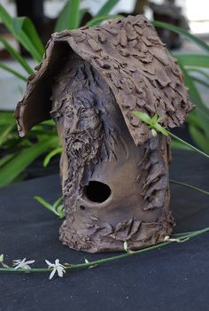 Bird House Cold Comfort Pottery