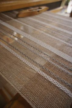 lovely simple curtain fabric in natural colors