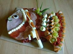. Sandwich Cake, Sandwiches, Brunch, Food Garnishes, Party Platters, Food Crafts, Antipasto, Creative Food, I Foods