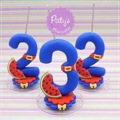 Vela Show da Luna - Pronta Entrega - Festa Infantil - Paty's Biscuit