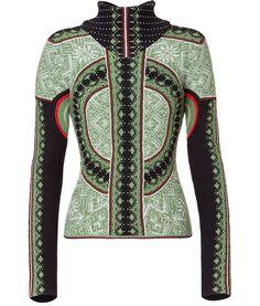 Givenchy insane intarsia turtleneck