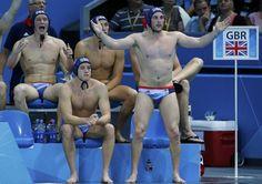 Team GB Waterpolo team