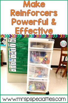 Making Reinforcers Powerful