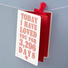 Such a cute card, the site lets you enter the dates so they can print the correct amount of days