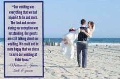 We love hosting weddings and it shows! Check out this beautiful testimony from Melissa and Jason who recently walked down the ailse on #DiamondBeach. #beachweddings #CapeMay