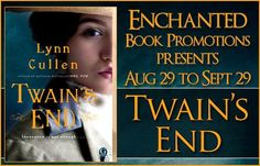 Spotlighting Twain's End by Lynn Cullen with a Preview & Interview   Twains End  by Lynn Cullen  Genre: Historical  Now in paperback for the first time from the national bestselling author of Mrs. Poe Lynn Cullen comes TWAINS END (Gallery Books; June 7 2016; Trade Paperback; $16.00) a fictional imagining of Americas iconic writer Mark Twain and the woman who knew him too well. In March of 1909 Mark Twain cheerfully blessed the wedding of his private secretary Isabel V. Lyon and his business…