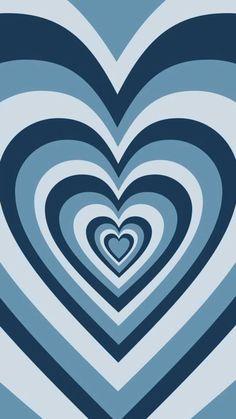 blue heart latte wallpaper