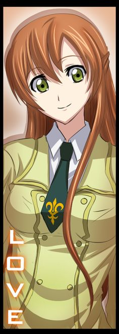 Colors of Geass - Shirley by Suihara on deviantART