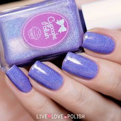 Cupcake Polish Lilac You Mean It Nail Polish | Live Love Polish