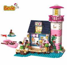 26.60$  Buy now - http://aliwka.shopchina.info/go.php?t=32793777118 - Bevle Bela 10540 Friends Series Villa Vacation Seaside Beach Building Block Compatible with LEPIN Brick Toy 41094  #magazineonlinewebsite