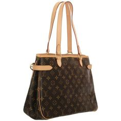 Louis Vuitton Batignolles Horizontal Shoulder Bag ❤ liked on Polyvore