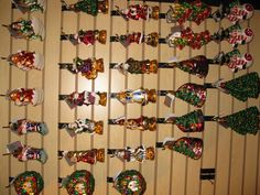 More new 2012 Christopher Radko Ornaments being displayed at Geo.'s Quarters in Sandersville, Georgia.  Some of ornaments you see displayed are this year's Ornament of the month with which is a set of 12 Carols Set.  Ornaments will be available very soon at www.gqgifts.com.