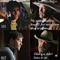 101 to 817 Loft scene with Ty Borden and Jack Bartlett. 817 Loft Scene is Ranting very high on my all time favorite scenes. Great story tie back. Heartland Season 1, Amy And Ty Heartland, Heartland Quotes, Heartland Ranch, Heartland Tv Show, Heartland Georgie, Heartland Episodes, Tv Show Quotes, Movie Quotes