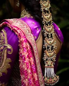 Hair Jewels That'll Give Your Bridal Jewellery A Run For Its Money! Bridal Dupatta, Bridal Bun, Indian Bridal Hairstyles, Hair Jewels, Hair Piece, On Your Wedding Day, Looking Gorgeous, Beautiful Bride, Bridal Jewelry
