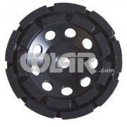 Rebolo Diamantado 115 mm - Gr 036 CR Preto Para Concreto - www.colar.com