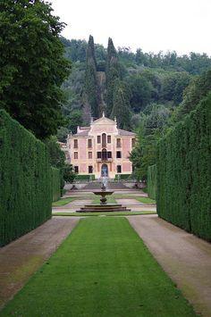 Villa Barbarigo, Euganean Hills, Veneto, Italy