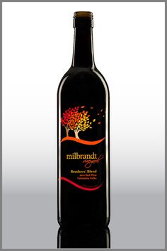Milbrandt Wine decorated by @thinkuniversal