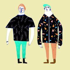 character illustrations - character design - fashion illustrations - people art - character artwork - figurative - design - illustrator - Ashley Percival Illustrator