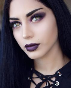 Blossoms Shimmering in Moonlight // @mahafsoun enchanting in Night Wanderer Forbidden #Lipstick, a smoky #purple shade from our Night Visions collection.