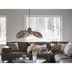 Lampa rattanowa Wella - PR Home I Casabianca Pendant Light, Pillows, Home, Ceiling Lights, Throw Pillows, Bed, Sectional Couch, Dinning, Furniture