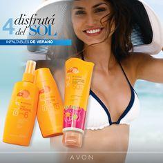 Con Avon Sun protegé tu piel de los rayos UVA y UVB. Recordá reiterar su aplicación cada 2 hs. ¡y disfrutá del sol con toda tu familia!